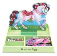 Melissa & Doug: My Horse Clover Magnetic Dress Up Set