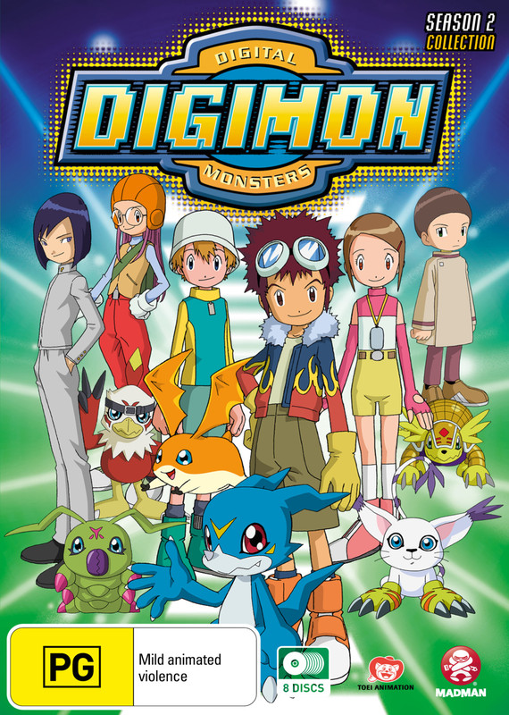 Digimon: Digital Monsters - Season 2 Collection on DVD