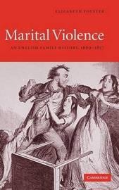 Marital Violence by Elizabeth Foyster
