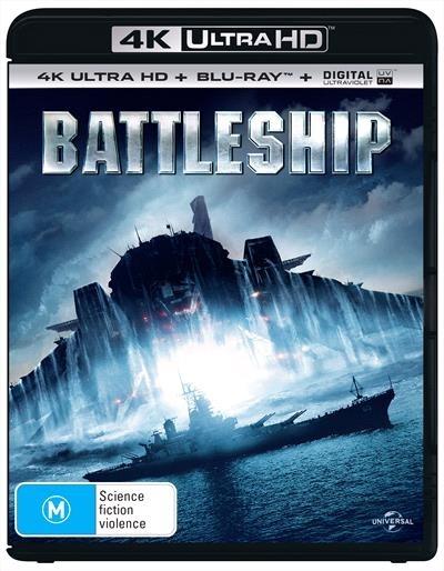 Battleship on Blu-ray, UHD Blu-ray