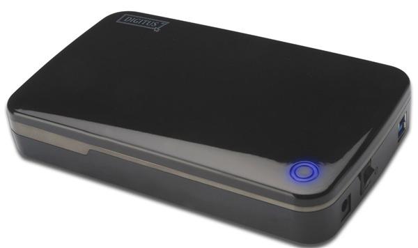 "Digitus SATA USB 3.0 3.5"" HDD Enclosure image"