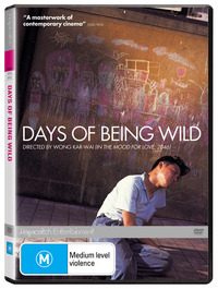 Days Of Being Wild on DVD image