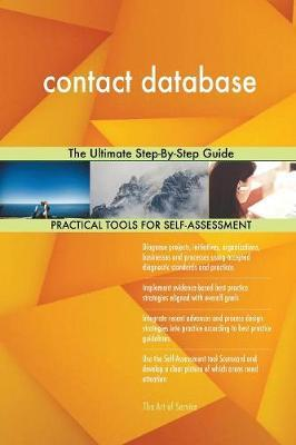 Contact Database the Ultimate Step-By-Step Guide by Gerardus Blokdyk image