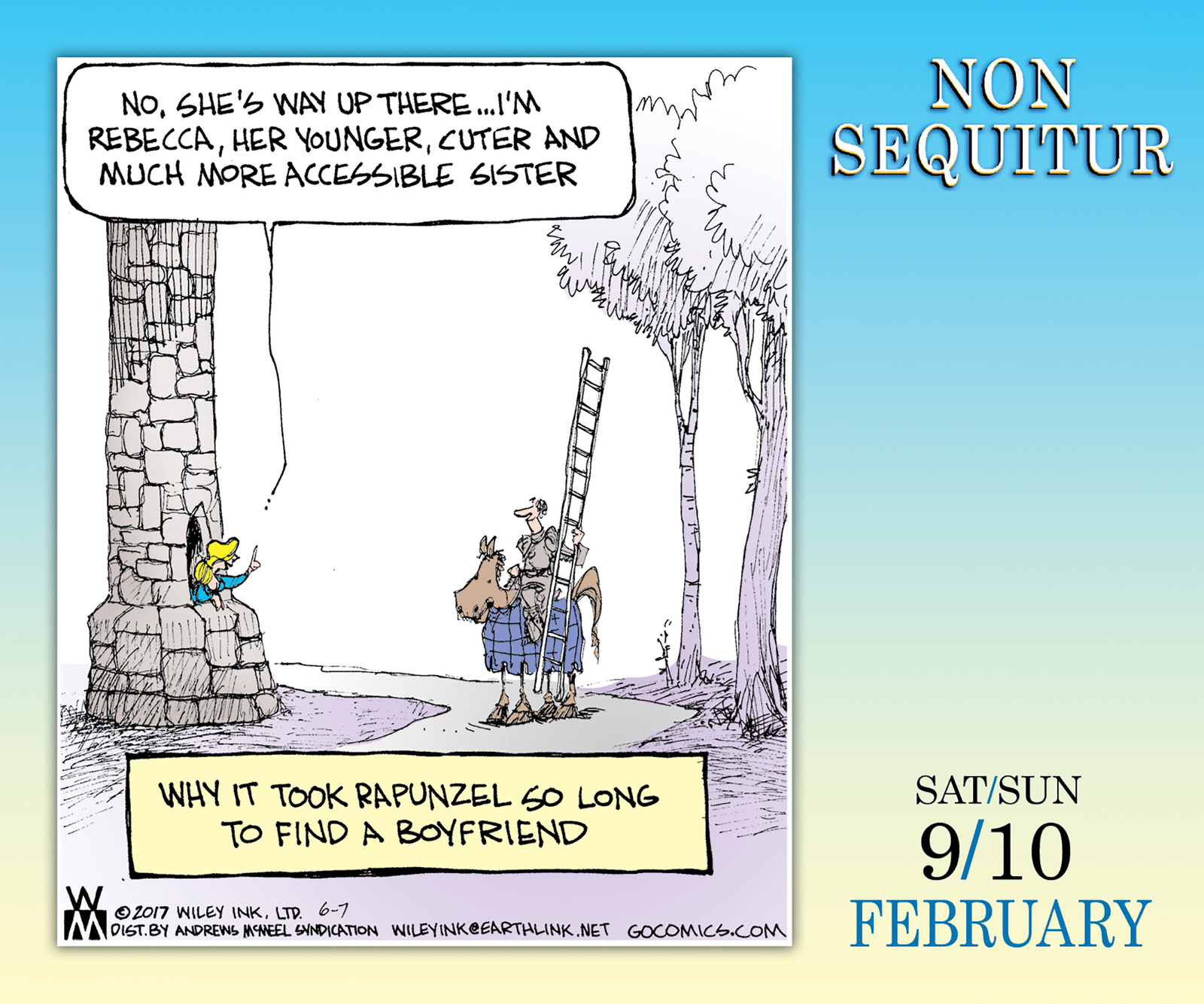 Non Sequitur 2019 Day-to-Day Calendar by Wiley Miller image
