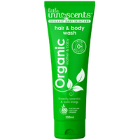 Little Innoscents: Organic Baby Hair and Body Wash - Spearmint & Sweet Orange (250mL)