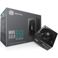 Cooler Master MWE Gold 550W 80Plus Gold Full Modular Power Supply
