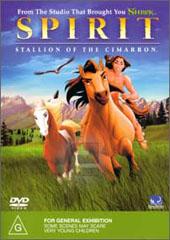 Spirit - Stallion Of The Cimmaron on DVD