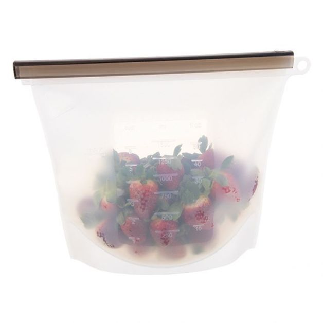 Silicone Reusable Food Storage Bag - 1.5L