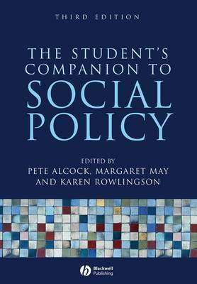 The Student's Companion to Social Policy image