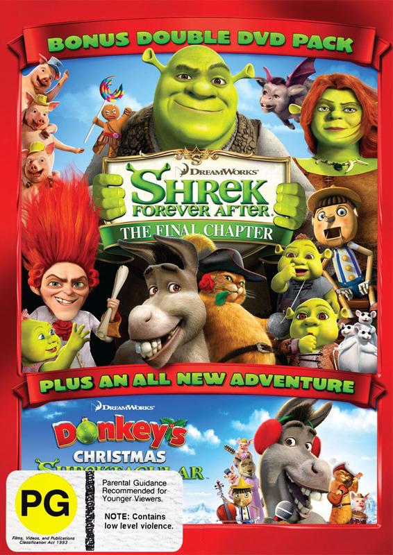 Shrek Forever After: The Final Chapter (PLUS Donkey's Christmas Shrektacular), (2 Disc Set) on DVD