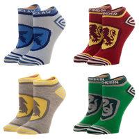 Harry Potter Crests 4 Pack Juniors Ankle Socks