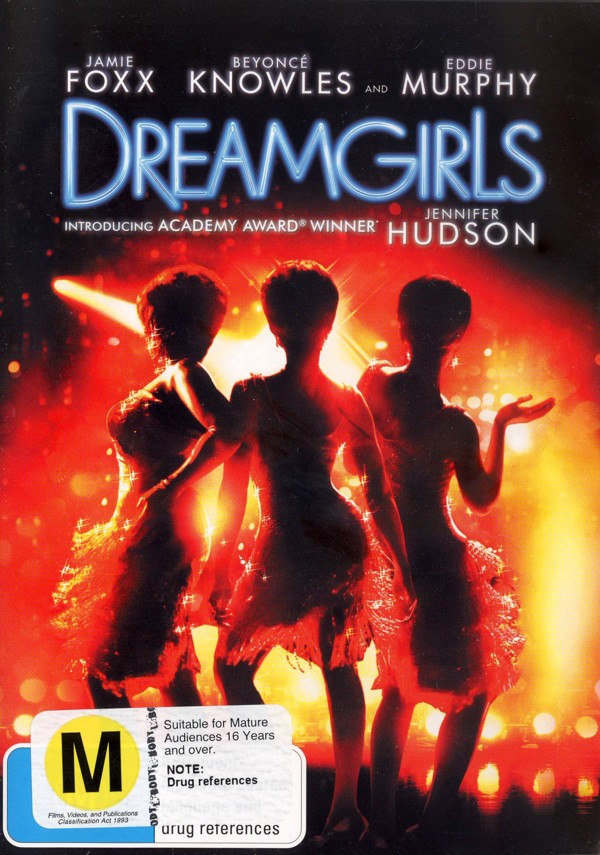 Dreamgirls on DVD image