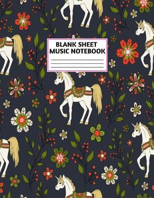 Blank Sheet Music Notebook by Camron Ashley Music