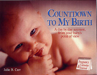 Countdown to My Birth: A Day by Day Account, from Your Baby's Point of View by Julie B. Carr image