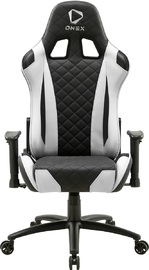 ONEX GX330 Series Gaming Chair (Black & White) for