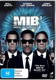 Men in Black III on DVD