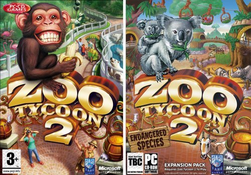 Zoo Tycoon 2 + Zoo Tycoon 2: Endangered Species for PC Games