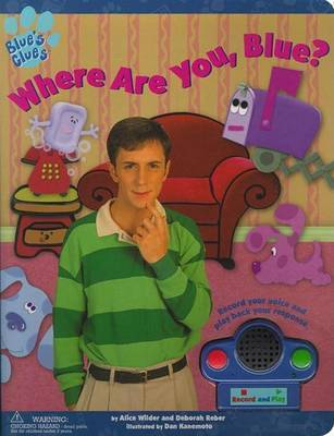 Blue Clues Where are You Blue by WILDER