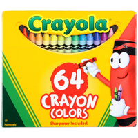 Crayola: Classic Colour - 64 Crayon Pack image