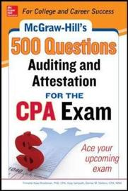 McGraw-Hill Education 500 Auditing and Attestation Questions for the CPA Exam by Denise M. Stefano