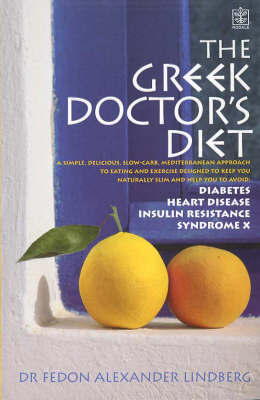 The Greek Doctor's Diet by Fedon Alexander Lindberg image