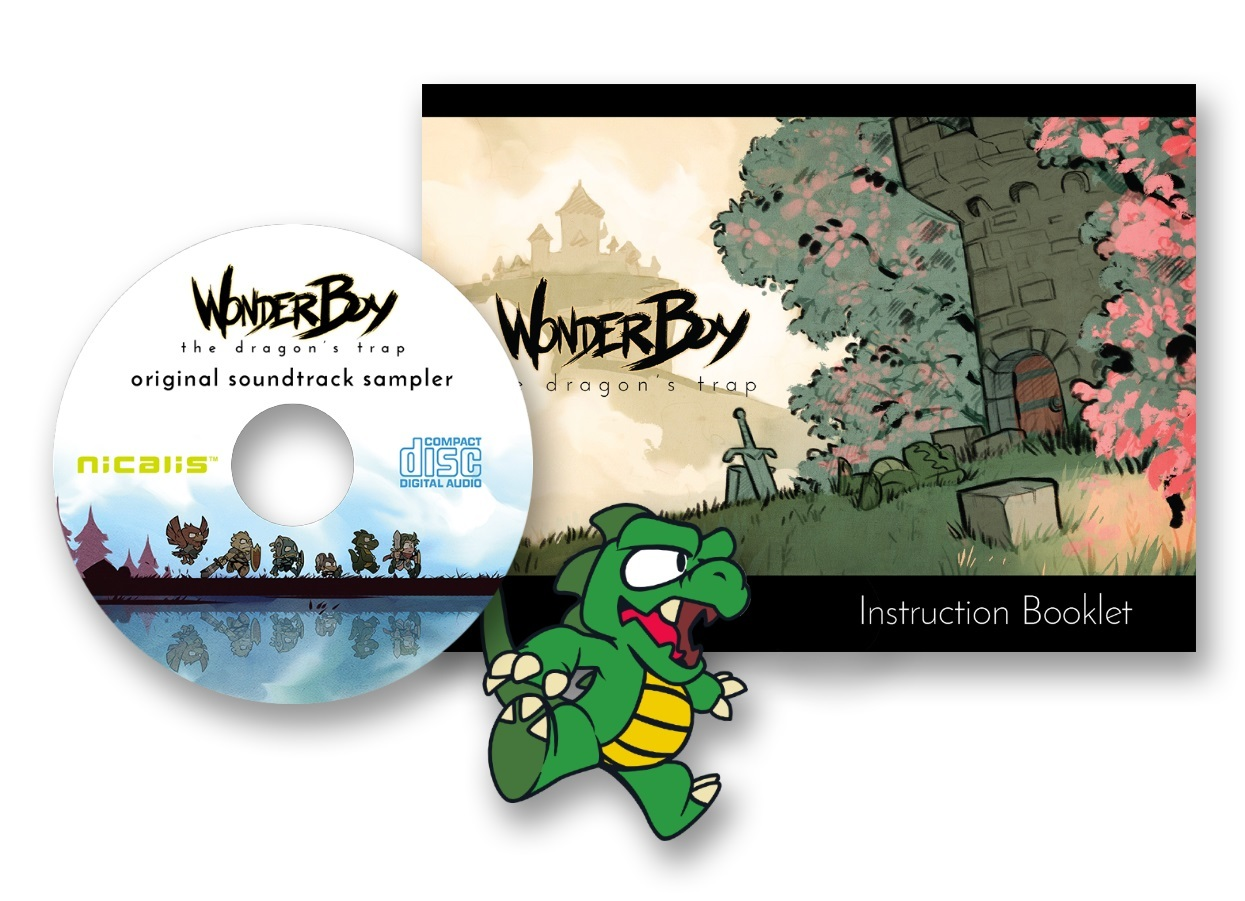 Wonder Boy: The Dragon's Trap for PS4 image