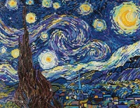 Diamond Dotz: Facet Art Kit - Starry Night (Van Gogh)
