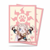 Sleeves Standard 100ct Magic Chibi Collection Ajani Lion Hug