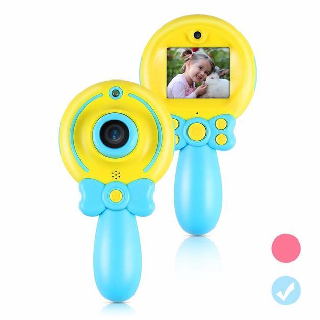 Kids Camera Cute Children's Self-timer HD Digital Video Camera - Blue