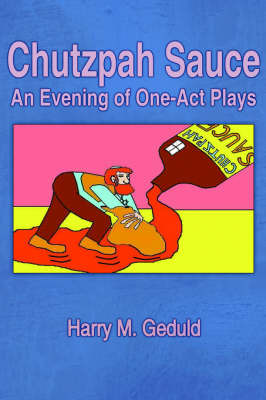Chutzpah Sauce by Harry M. Geduld image