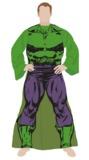 Marvel Hulk Men's Adult Sleeve Blanket