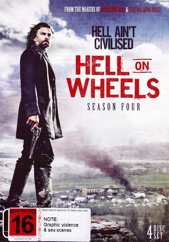 Hell On Wheels - Season Four on DVD