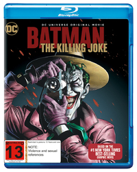 Batman: The Killing Joke on Blu-ray