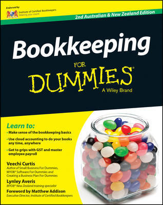 Bookkeeping for Dummies, Second Australian & New Zealand Edition by Veechi Curtis image