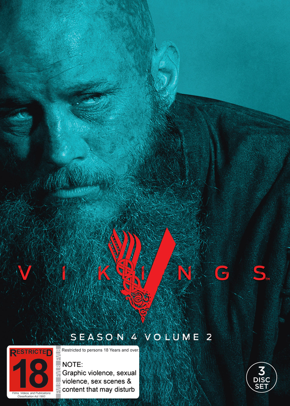 Vikings: Season 4 - Volume 2 on DVD