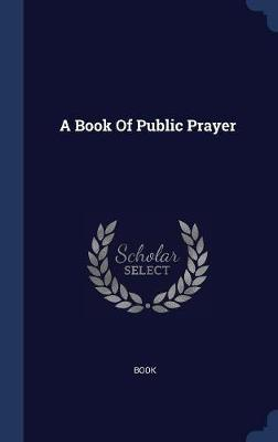 A Book of Public Prayer image