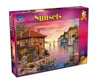 Holdson: 1000 Piece Puzzle - Sunsets S2 (Mediterranean Harbour)