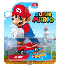 Hot Wheels: Entertainment Character Car - Mario