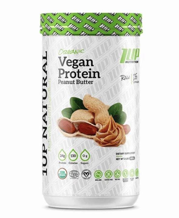 1Up Nutrition: Natural Vegan Protein - Peanut Butter (998g)