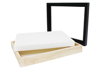 Jasart: Floater Frame - Natural (Thick Edge/16x20inch)