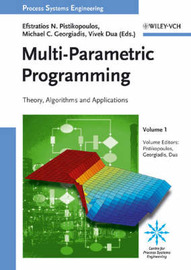 Multi Parametric Programming: V. 1 by Efstratios N. Pistikopoulos image