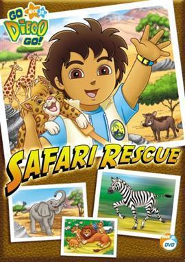 Go Diego Go! - Safari Rescue on DVD