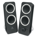 Logitech Z200 Multimedia Speakers (Midnight Black)