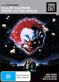 Killer Klowns from Outer Space on DVD