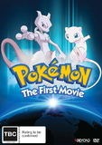 Pokemon: Movie 1 - MewTwo Strikes Back on DVD