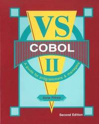 VS Cobol II by Anne Prince