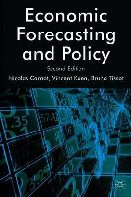 Economic Forecasting and Policy by Bruno Tissot image