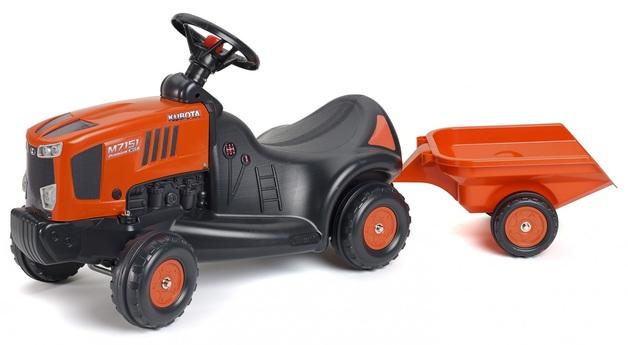 Falk: Kubota Baby Tractor - With Trailer
