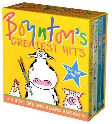 Boynton's Greatest Hits Boxed Set Volume 1 (4 Books) by Sandra Boynton