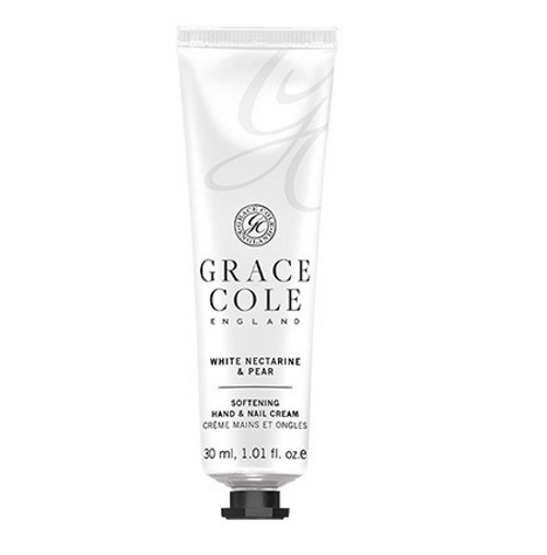Grace Cole: Hand & Nail Cream - White Nectarine & Pear (30ml)